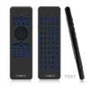 Mini RF Wireless Fly Air Mouse Keyboard Backlit IR voice Remote Control for Onida Samsung lg smart TV box Android iptv