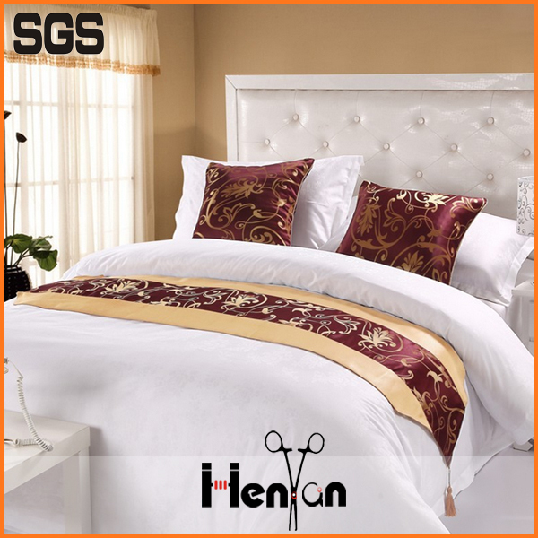 Wholesale Custom Hotel King Size Bed Runner Size Of Queen