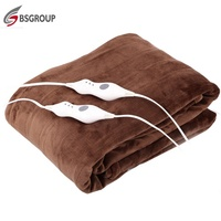 High quality PTC heater insulating electric blanket king size dual control for heating furnace