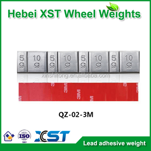 adhesive red tape wheel balancing weight for car