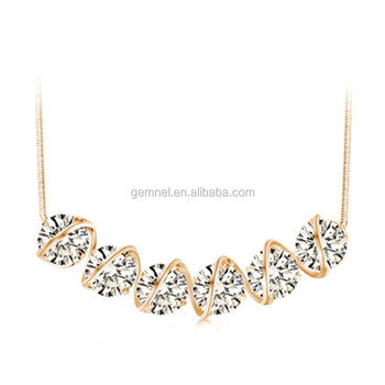 Gemnel jewelry new trendy simple design necklace diamond pendant gemnel jewelry new trendy simple design necklace diamond pendant necklace crystal necklace aloadofball Images