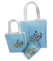 Common use recyclable felt both gift and shopping bags for decoration and storage