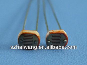 Photoresistor 5mm Mj5549 Ldr Photo Resistors Light-dependent ...