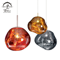 New Design Living Room dining room Modern iron Acrylic Pendant Lamp