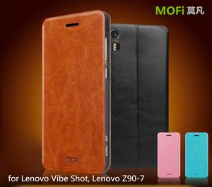 MOFi Original Celular Flip Cover for Lenovo Vibe Shot Z90, Slim PU Leather  Pouch Case for Lenovo Vibe Z90-7
