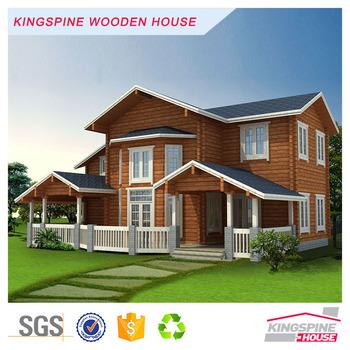 New Style Stable Prefab Log Houses Modular House Uk For Sale