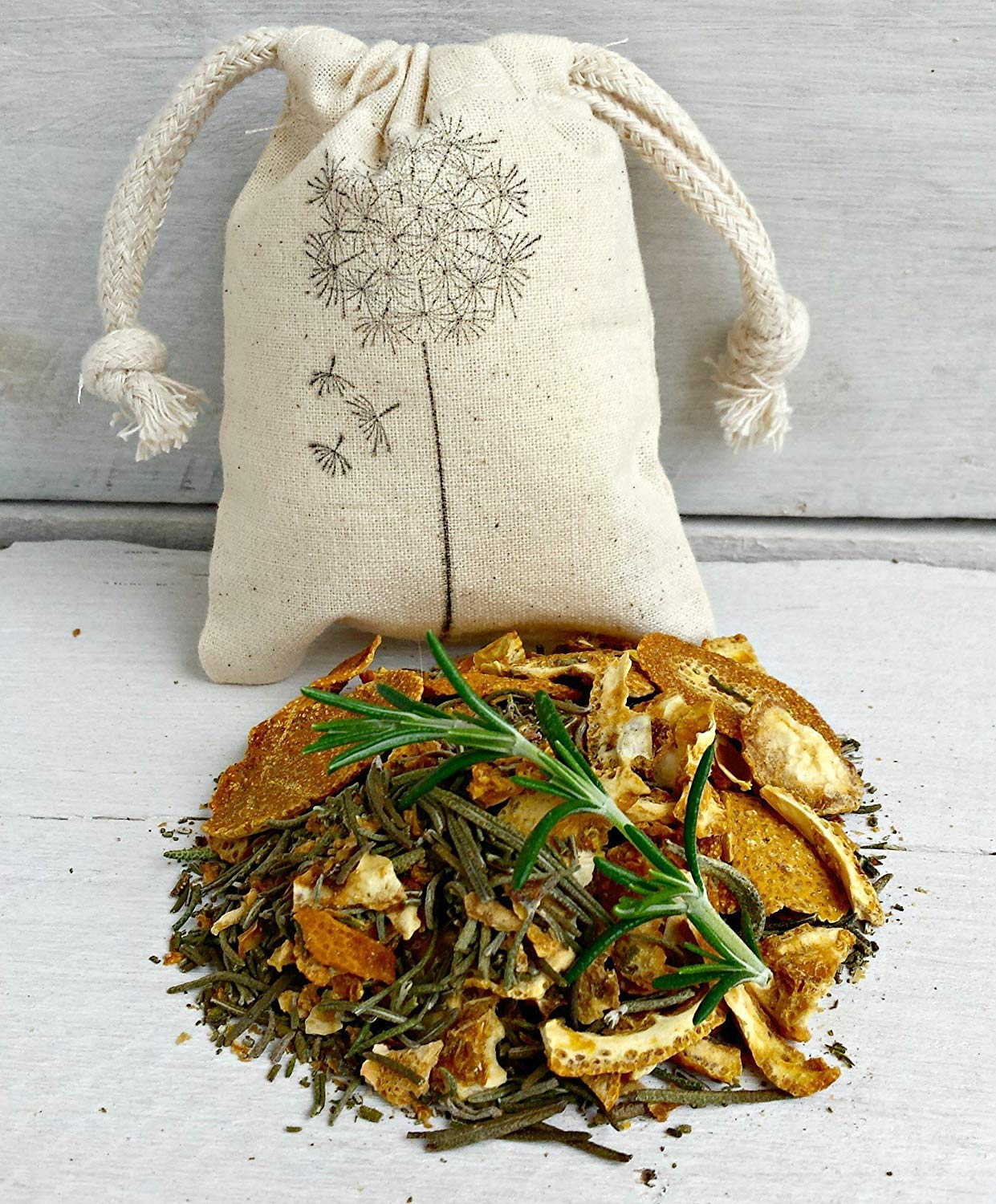 Rosemary Citrus Sachet | Rosemary Scented Sachets | Aromatherapy Sachets | Rosemary Sachet Bags | Wedding Favors | Rosemary Scented Drawer