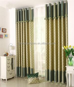 2017 latest designs fancy style green window curtain for home2017 Latest Designs Fancy Style Green Window Curtain For Home  . Latest Curtain Designs For Home. Home Design Ideas