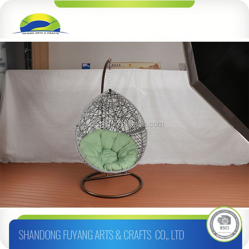 factory price rattan swing hanging basket chairs for sale