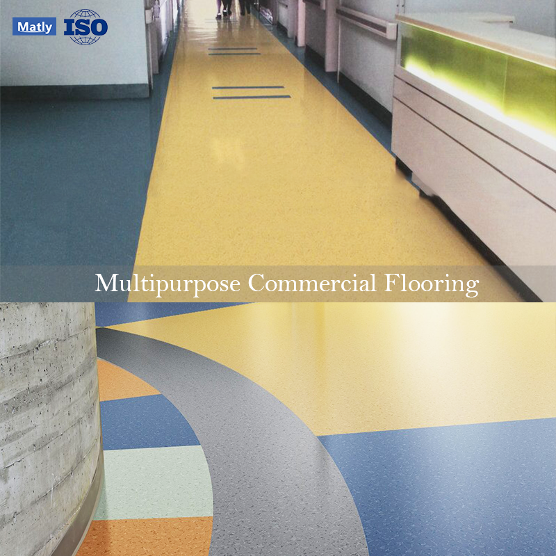 High Strength Indoor Composite Commercial Flooring