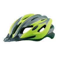 Cycling Sport And Glued-on PVC Out Mold Helmet With Hot Pressed Lining