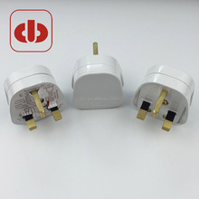 BSI approval UK 3-pin fused power cord plug in electrical plug