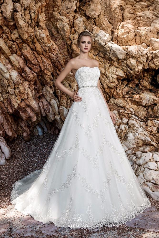 NE053 Lange Hochzeit Kleid 2017 Mit Schleier Sleeveless ...