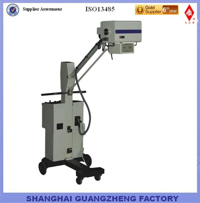 50mA mobile x-ray equipment ISO13485 Shanghai True Manufacturer