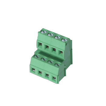 두 level dual 배 줄 5.0mm 5.08mm PCB screw 커넥터 brass 케이지 리프팅 clamp terminal block