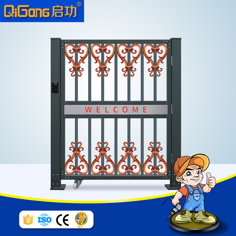 Automatic intelligent smart garage side door of security gate QG-L680