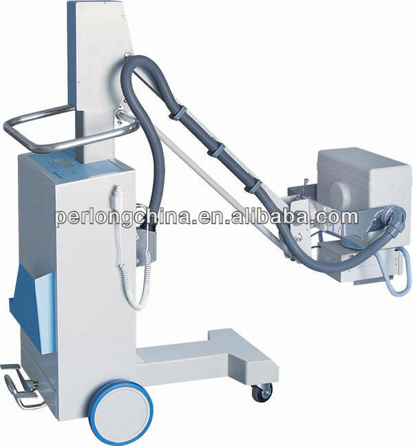 Medical Equipment 50mA High Frequency Mobile Digital X-ray Machine Price XM100