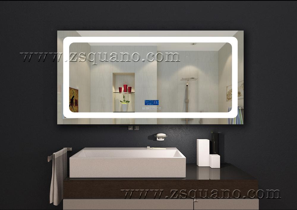 Volledige lengte badkamer muur spiegel met licht verlicht buy