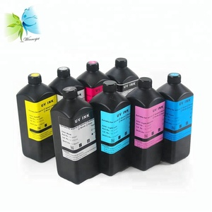 Curable LED UV Inkjet Printer Offset Printing Ink For Ricoh Gen4 Gen5 GH2220 Inkjet Printing Printhead
