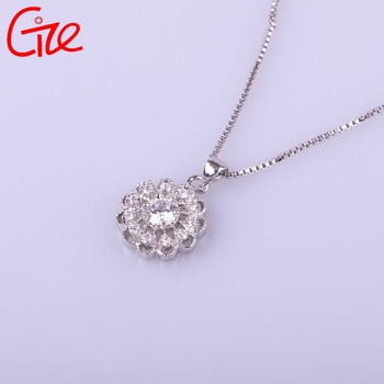 hot sale fashionable round shape new design for love necklace pendant