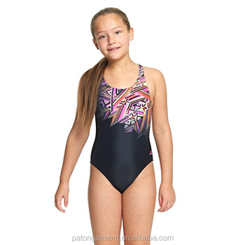 5490edee2b70d Junior Girls Starburst thick straps support and comfort girls one piece  swimsuits