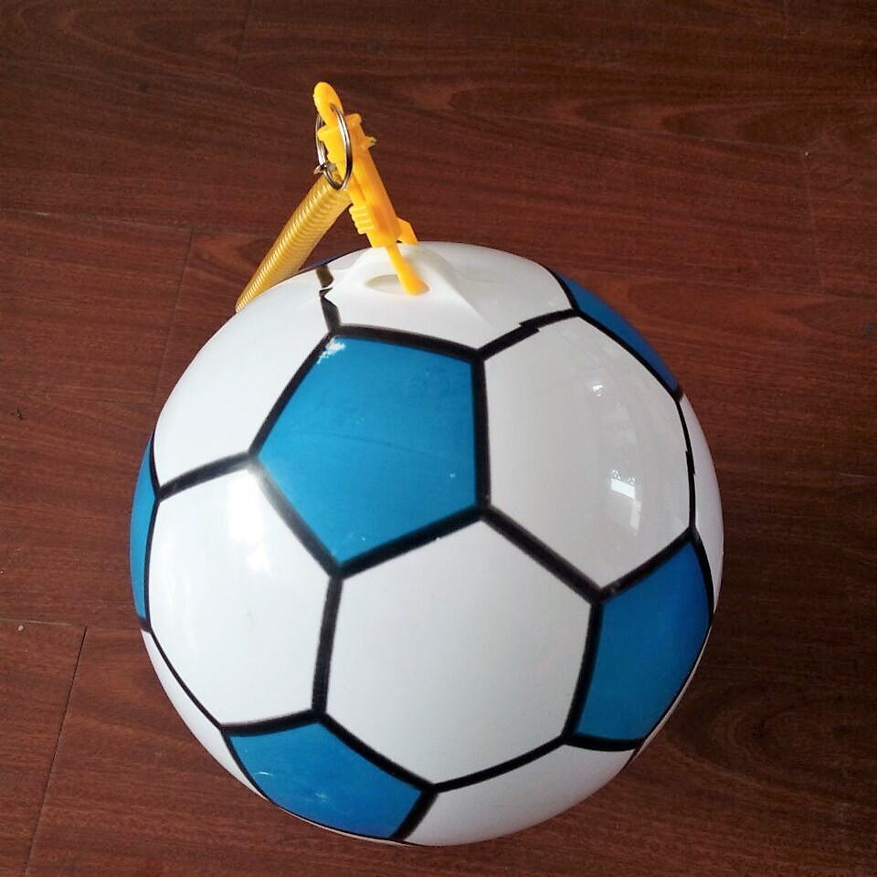 PVC tetherball practice football for kids