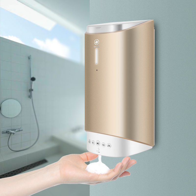 battery powered recycled kitchen soap dispenser