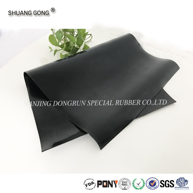 Industrail Vulcanized Chloroprene CR 5mm neoprene rubber sheets