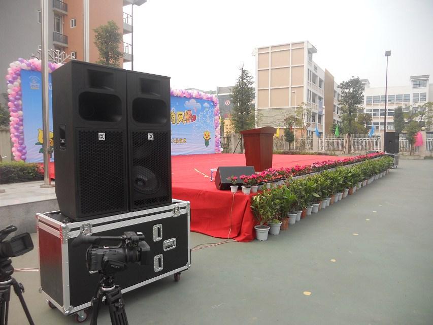 Disco Sound Dj Sistema Pa Speakers 3 Way Loudspeaker