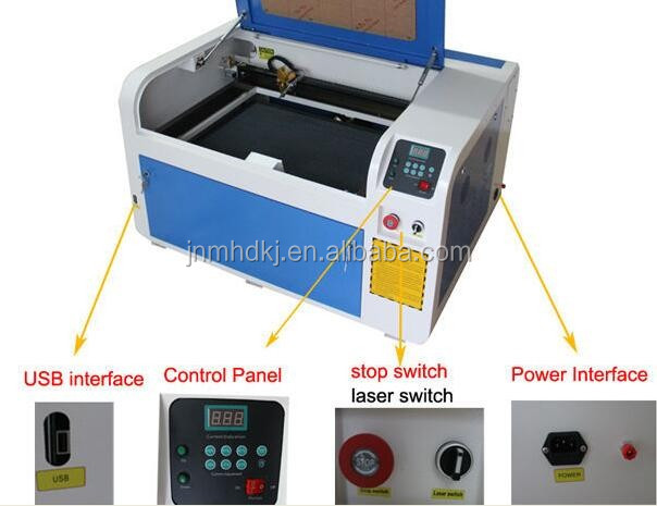 6040 Desktop Laser Engraver/60 Watt Laser Cutters For 5mm Mdf /laser Cutting Machine 4060