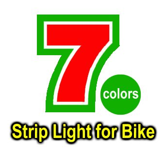 7 colors RGB strip light 5050 RGB strip light-RGB LED strip light for bike Specialized Diamondback Fuji Haro Shimano Huffy Klein
