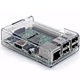 Raspberry Pi Premium Clear ABS Case for Raspberry Pi 2 Model B Quad Core and Raspberry Pi Model B+