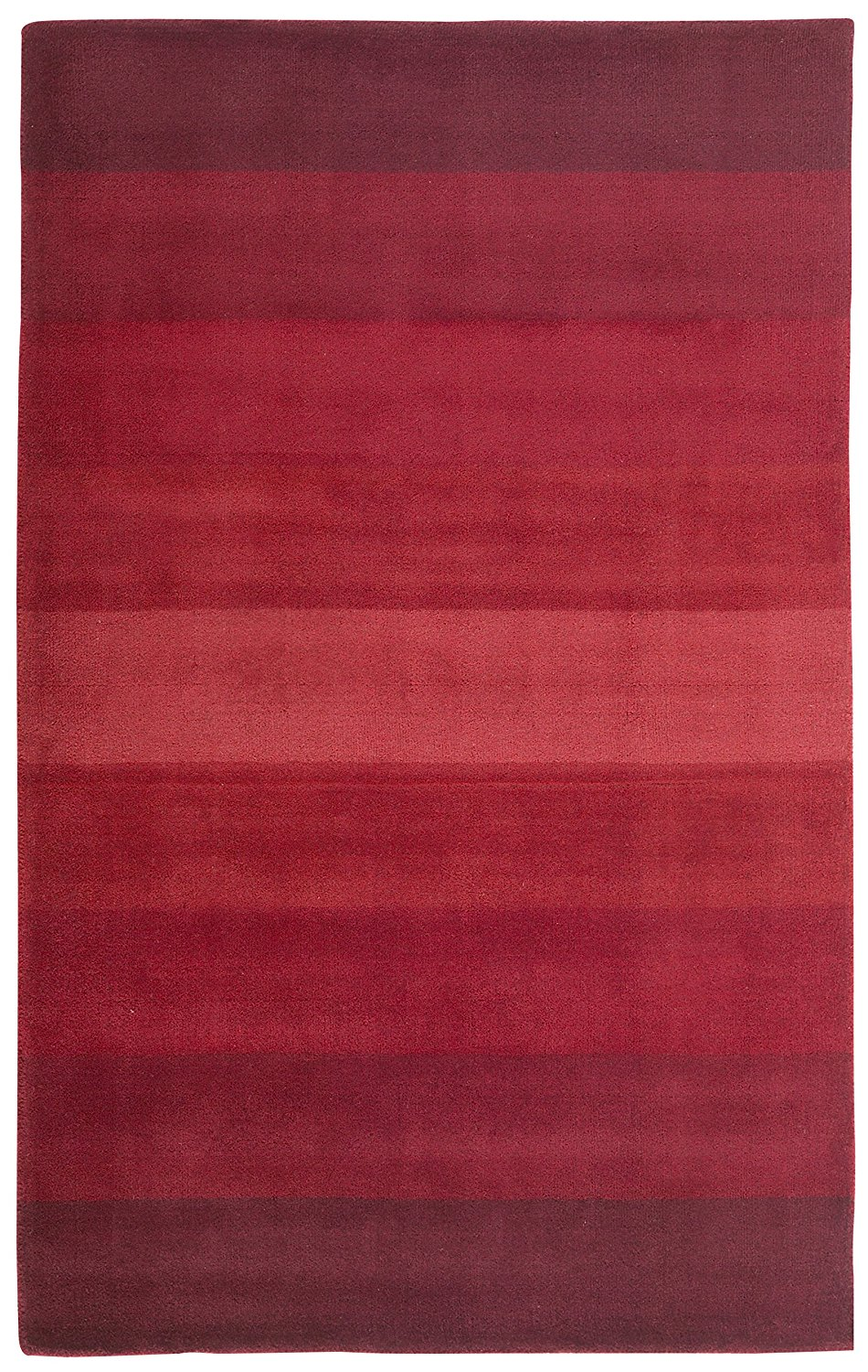 Get Quotations · Aspect Stripes Rug, 5 Feet By 8 Feet, Red