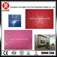 flower embossed wall cladding compact laminate hpl panel Decorative High-Pressure Laminates