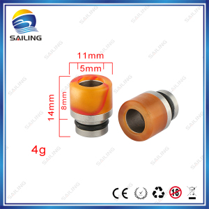 Hottest paypal accept Wide acrylic Drip Tip Mouth Piece 510 acrylic Drip Tip for CE4 Protank E Cig