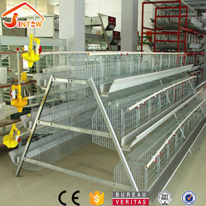 Stainless steel heavy duty cage chicken layers battery cages for layers for farms in Ghana