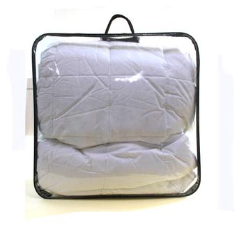 Moisture Dust Waterproof Pvc Plastic Zipper Storage Quilt Packaging