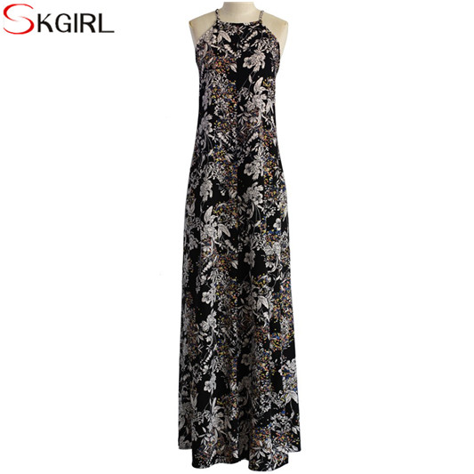 Women Boho Evening Party Long Maxi Dress