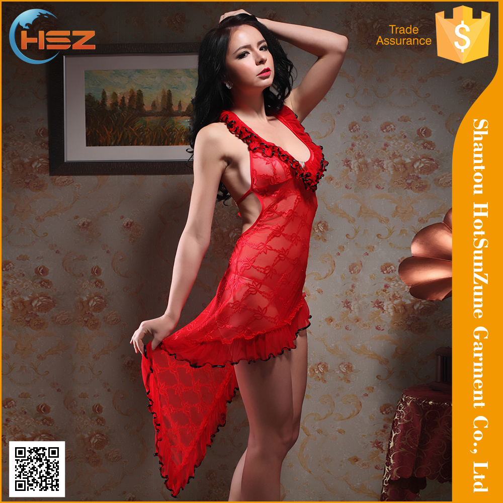 HSZ-8118# Wholesale high quality lady sexy lingerie fashion design mature ladies sexy underwear lingerie cheap sexy latex linger