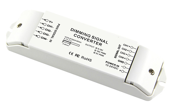 Bc- 344-pwm5v Led Dali Dimming Signal Converter With 4 Channels ...