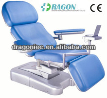 DW-BC001 Mobile medical electric blood donation chair medical chairs hydraulic
