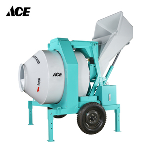 JZC350-EHT Electric motor construction Hydraulic Tipping Hopper concrete mixer