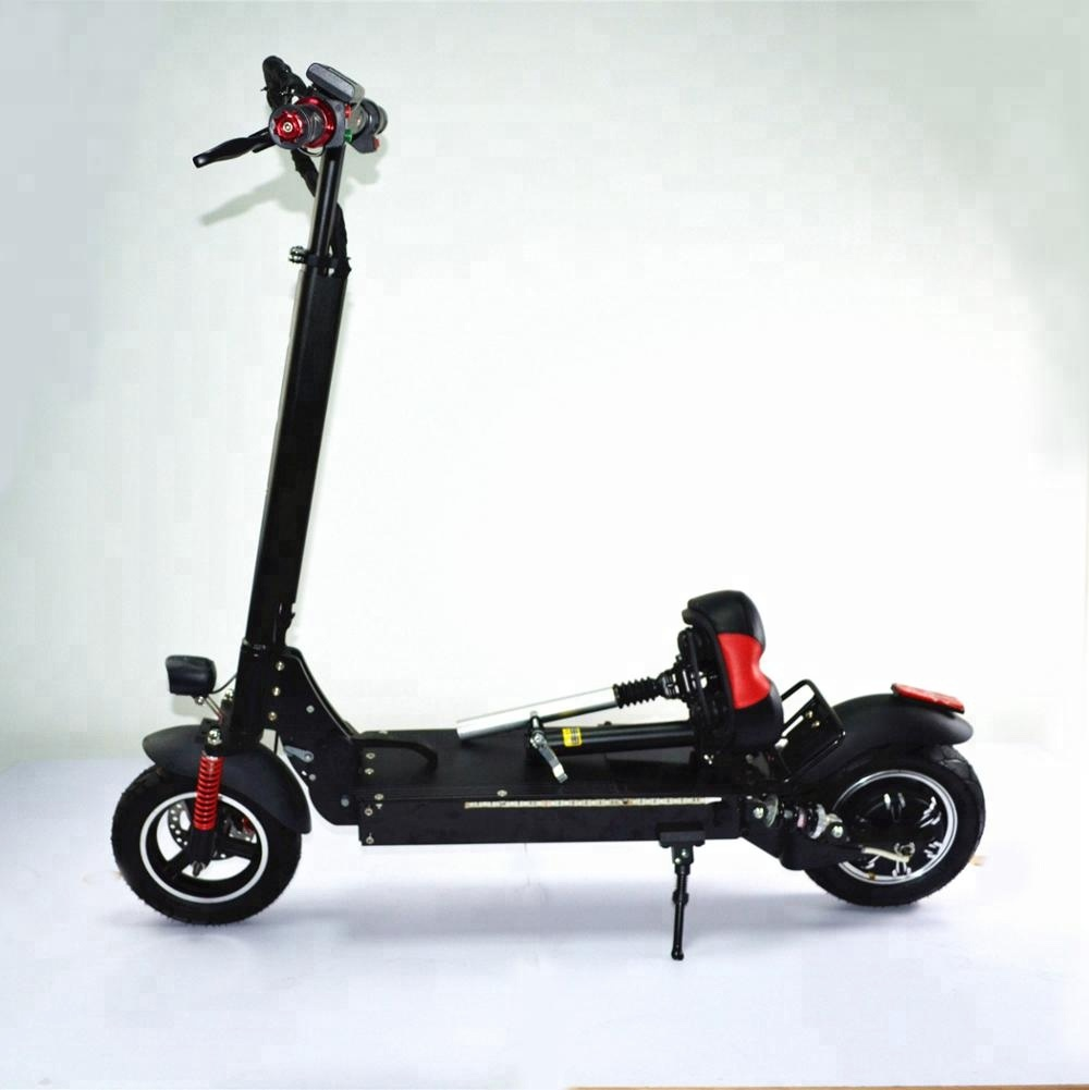 2 wheel 10 inch dual motor double seat electric bicycle scooter