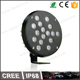 NEW!!! 16x5watt LEDs big round cnc pods for car roof tractor truck pickup work fog light led 4x4 accessories