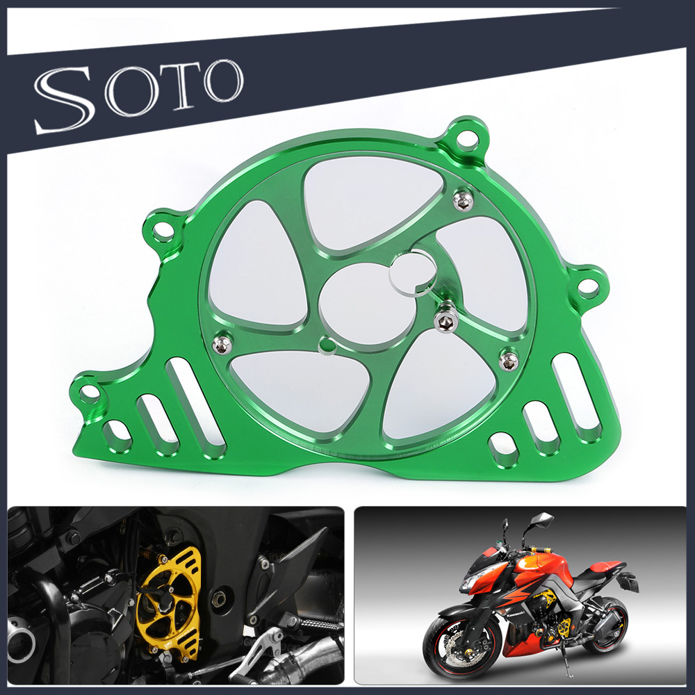 high quality CNC Motorcycle Left Engine Front Sproket Chain Protector Cover For Kawasaki Z1000 10-13 Z1000SX/NINJA1000 10-13