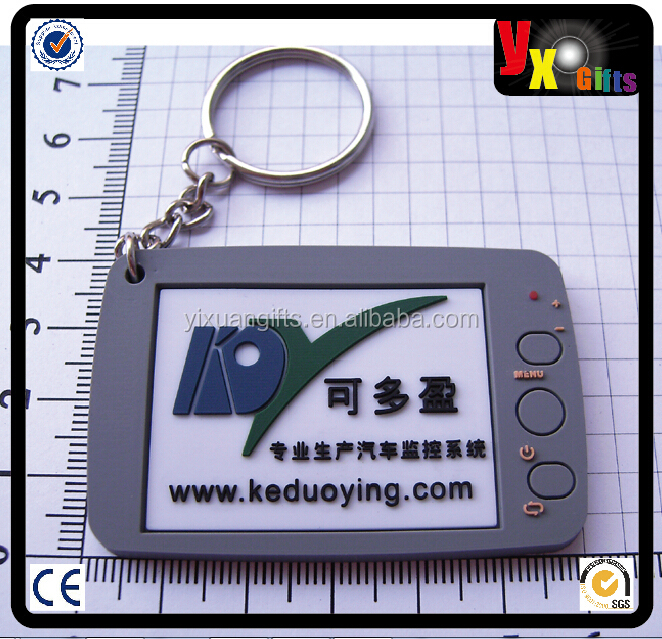 keychain wholesale soft pvc key chain 2d 3d effect