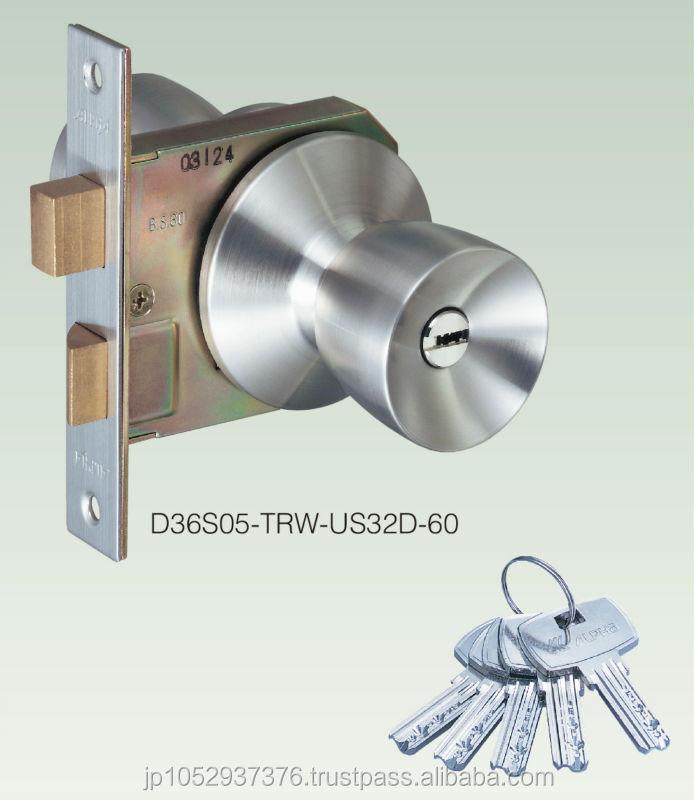 High Security Door Knob Lock By Japanese Door Handle Manufacturer ...