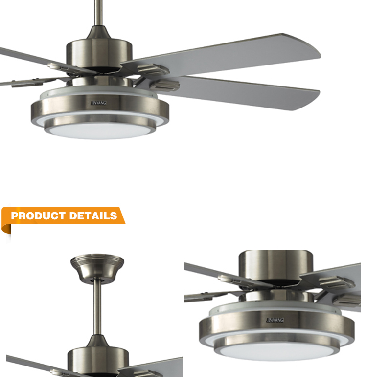 Factory Direct Sale Escaleras Ceiling Light Fan