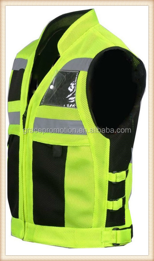 Wholesale Breathable High Visibility Reflective Safety Traffic Jackets/ Vest