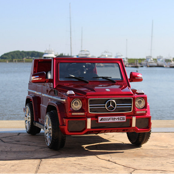 Hot Ing Licensed Mercedes G Wagon Toys Electric Baby Ride On Cars